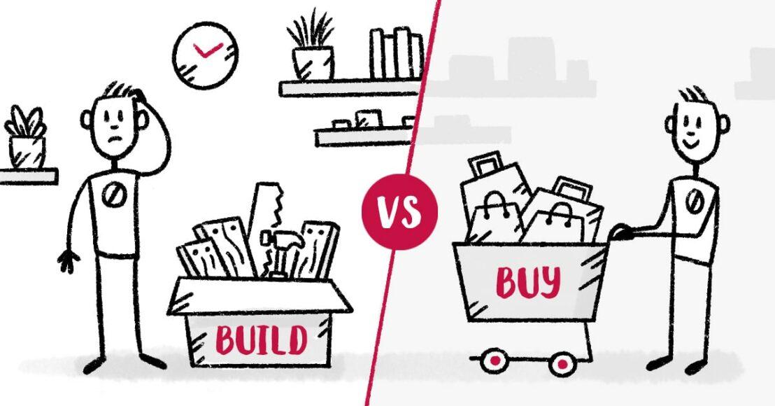Build vs buy framework