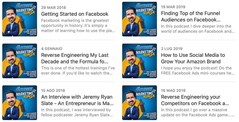 Facebook Marketing Podcast