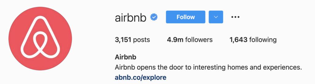 Instagram Bio Ideas AirBnB