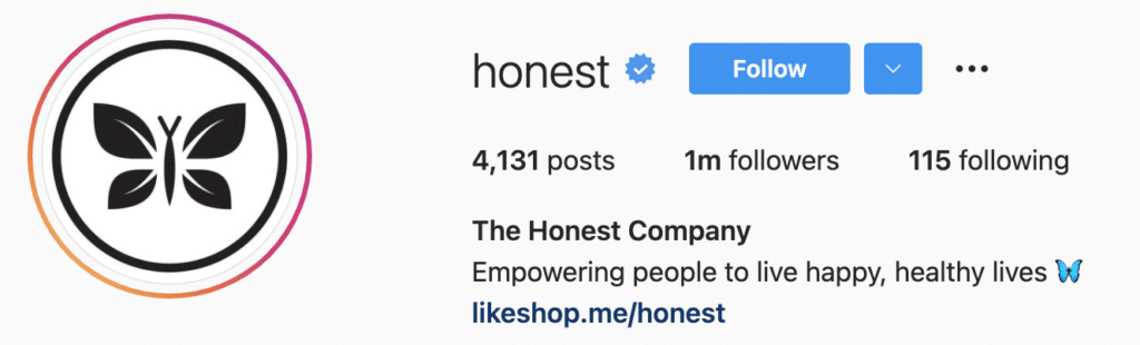 Instagram Bio Examples Honest