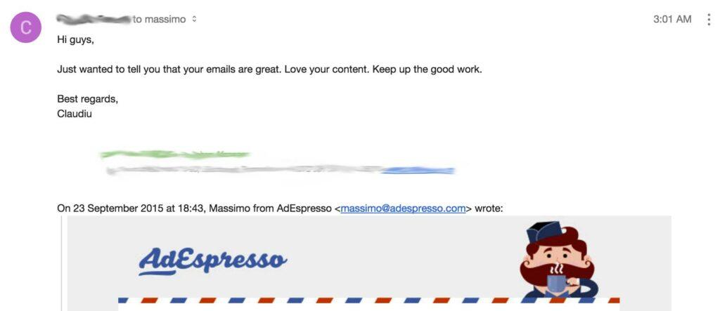 SaaS Newsletter success