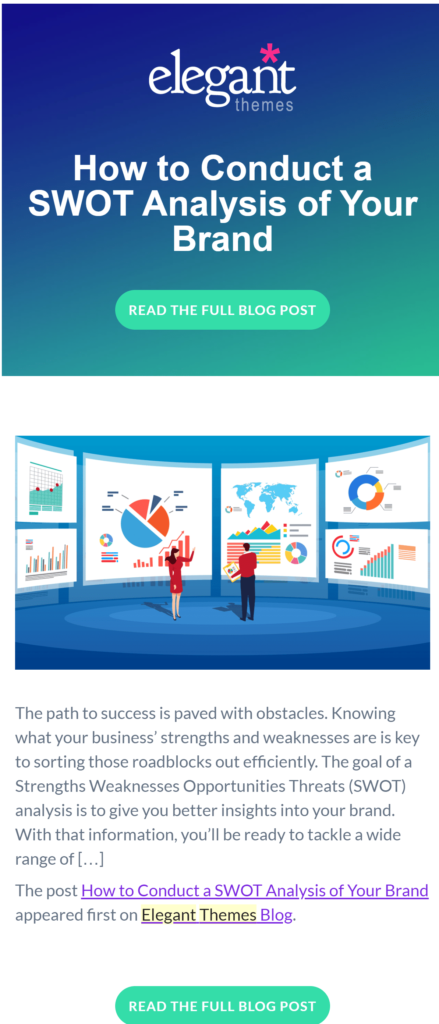 Saas Newsletter examples body